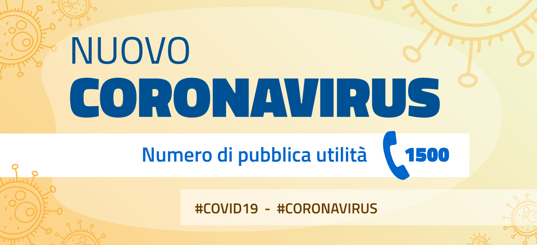 CORONAVIRUS Sez. Dedicata